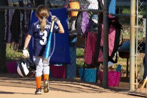 Keep Showing Up | SportsEpreneur | Softball U8