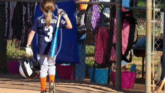 Keep Showing Up | SportsEpreneur | Softball U8