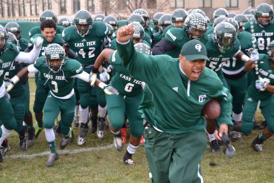 Thomas Wilcher | Leadership from Cass Tech High School Football Coach