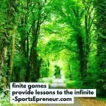 Finite Games Provide Lessons to the Infinite