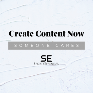 Create Content Now: Someone Cares